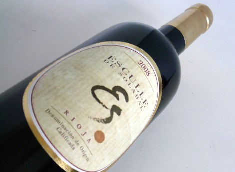 La botella de Esculle de Solabal.