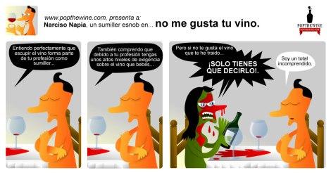 "Narciso Napia en ""No me gusta tu vino""."