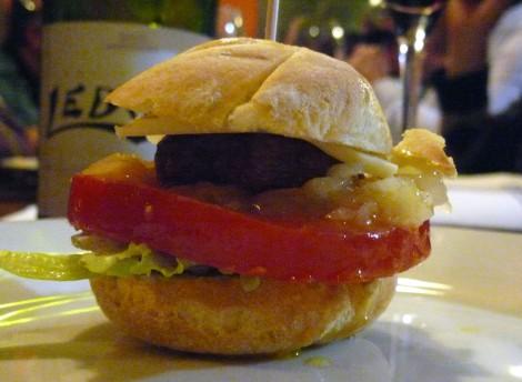 Mini Haburguesa.