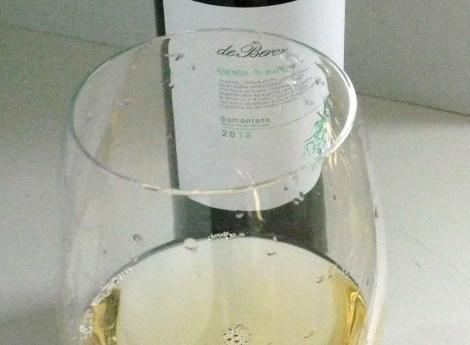 Precioso color del vino.