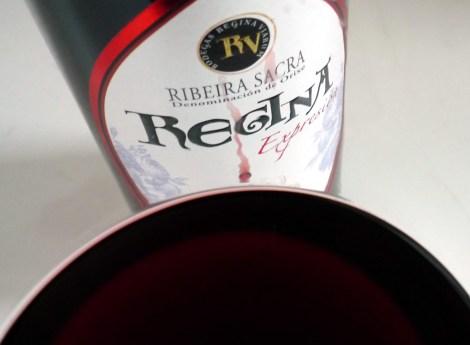 Regina Expresión en la copa.
