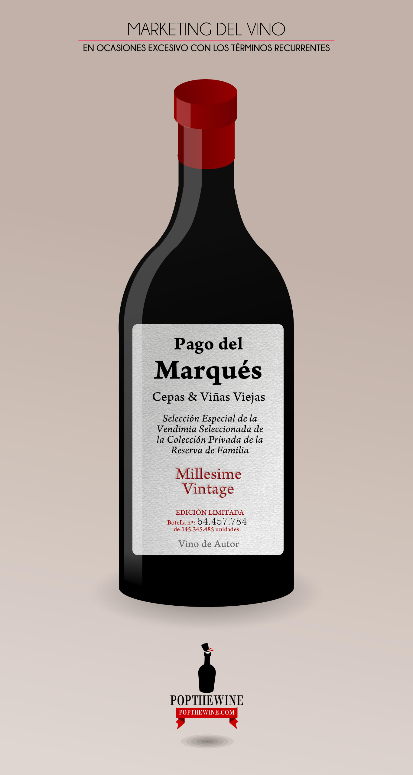 ¿Marketing fraudulento en el vino?