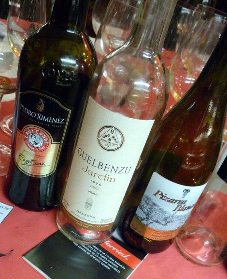 Últimos vinos de la cata.