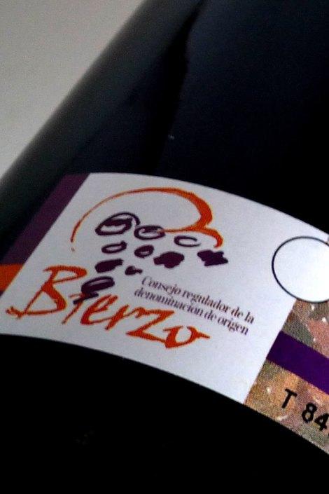 Contra etiqueta de Ledo Mencía