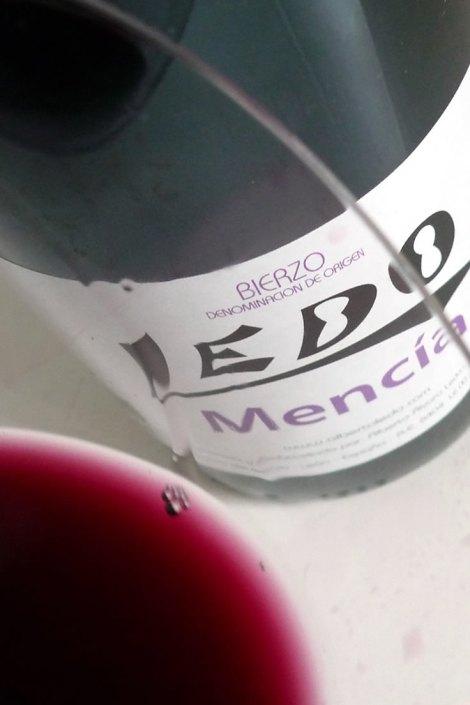 Detalle del vino Ledo Mencía
