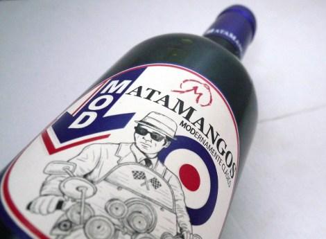 Botella de vino Mod de Matamangos