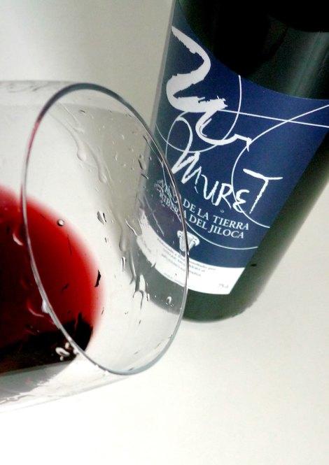 Detalle del vino Muret Azul.