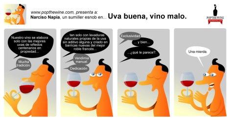 Narciso Napia en: uva buena, vino malo.