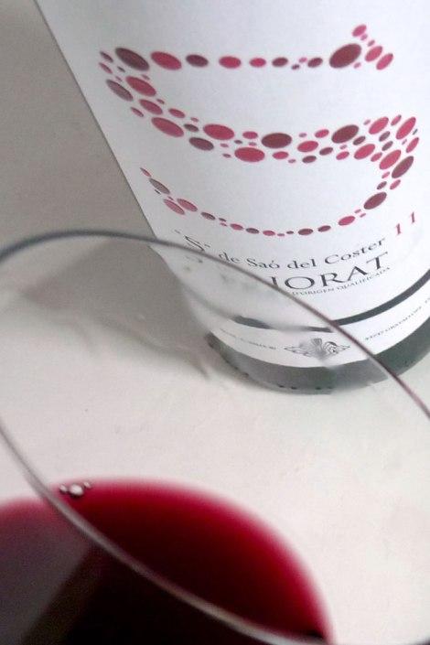 Detalle del vino S de Saó