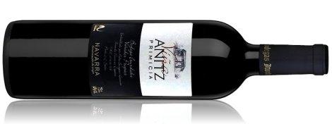 Botella de Viña Antiz Primicia.
