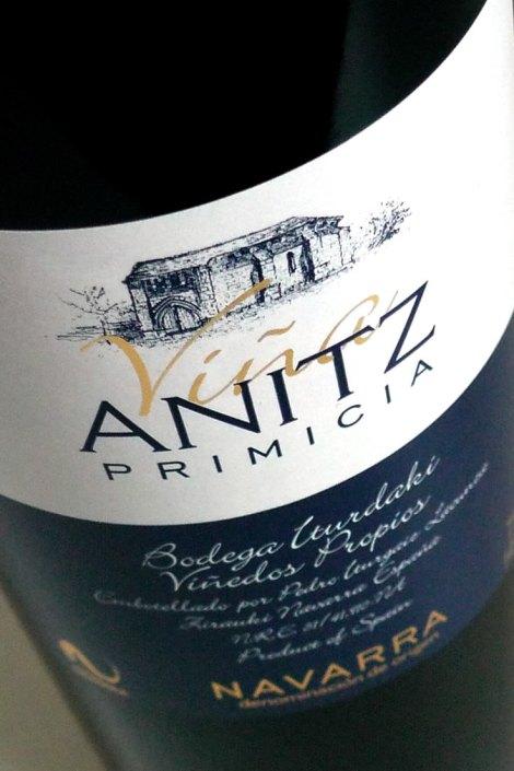 Viña Anitz Primicia.