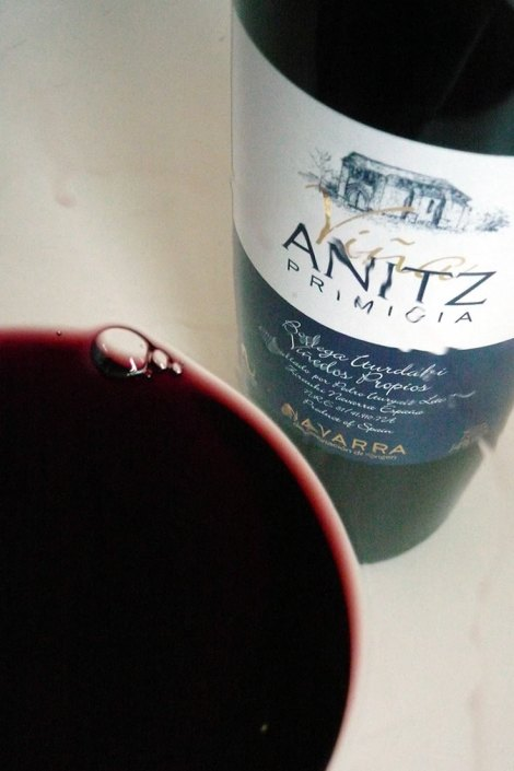 Detalle de Viña Anitz Primicia
