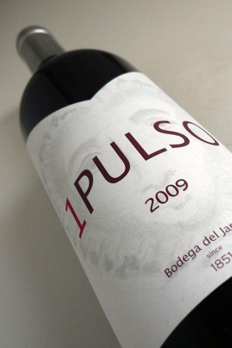 Botella del vino 1 Pulso.