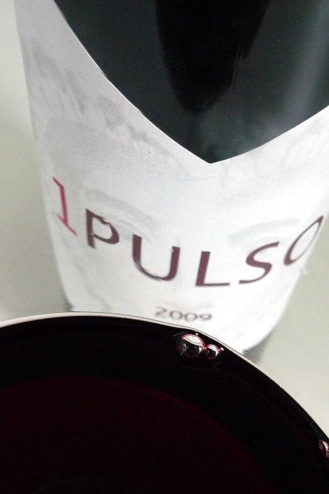Detalle del vino 1 Pulso en la copa.