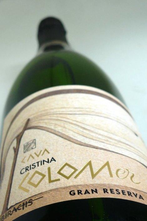 Botella de Colomer Dalí Gran Reserva
