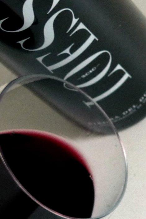 El vino y la copa.