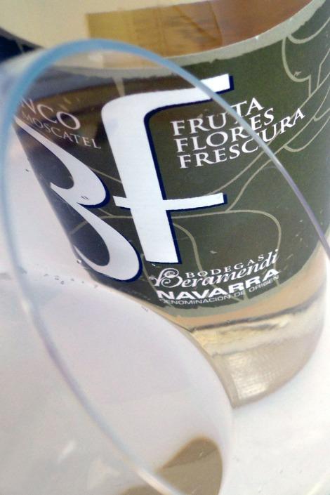 Detalle del vino Beramendi 3f Blanco.