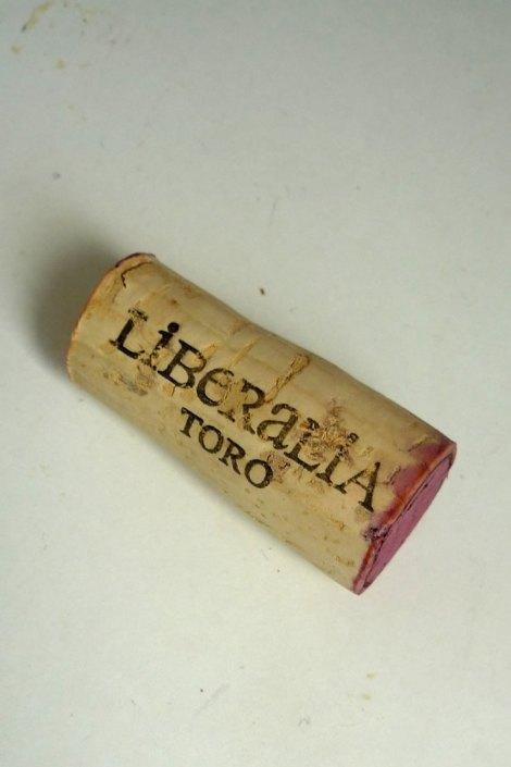 Detalle del corcho de Liberalia Cero.