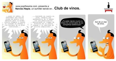 Narciso Napia en Club de Vinos.