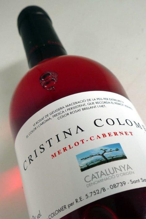 Botella de Cristina Colomer Rosado