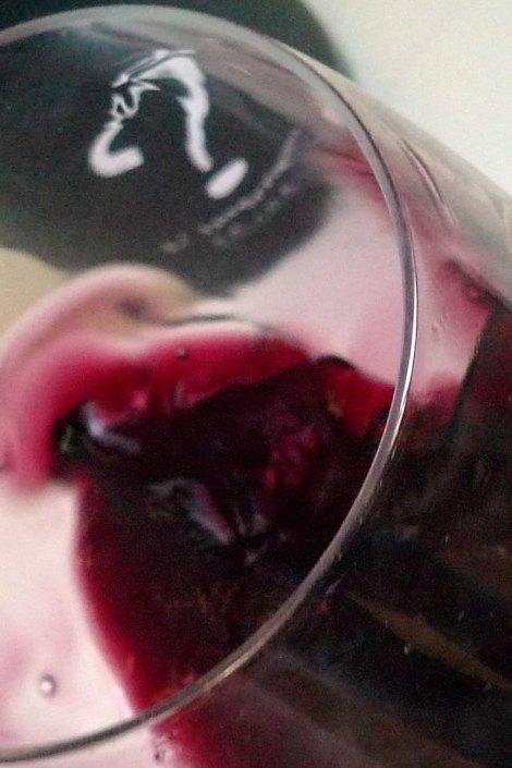 Tonalidades del vino L´Interrogant.