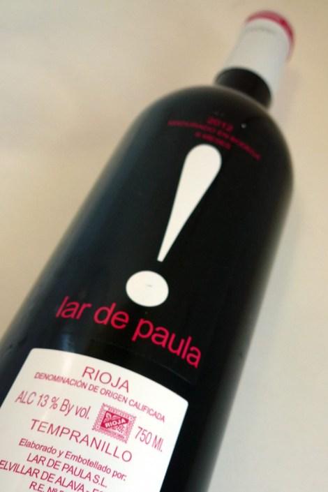 Botella de Lar de Paula Madurado