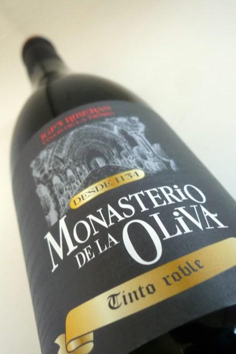 Monasterio de la la Oliva Tinto Roble.