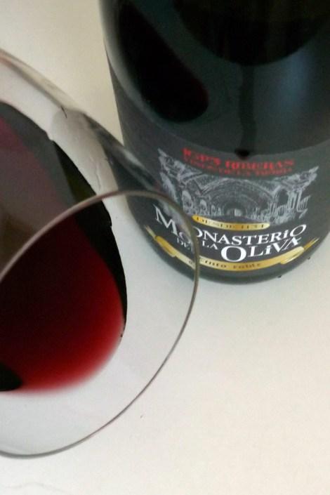 Abanico de tonalidades del vino.