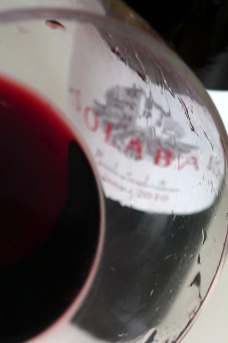 El vino Solabal Crianza.