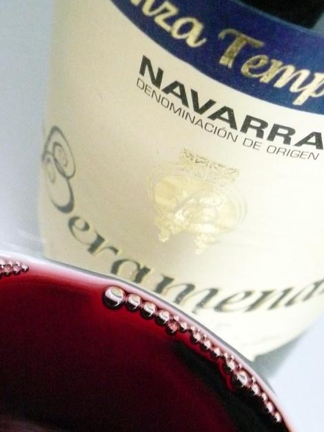 Detalle del vino Beramendi Crianza Tempranillo.