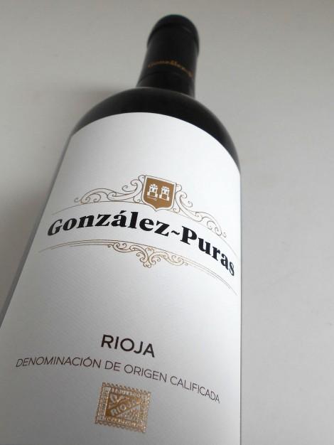 Etiquetado de Gonzalez Puras Crianza.