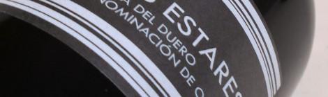 Etiquetado de Los Estares Crianza.