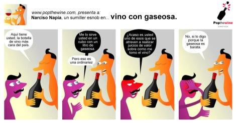 Narciso Napia en Vino con Gaseosa