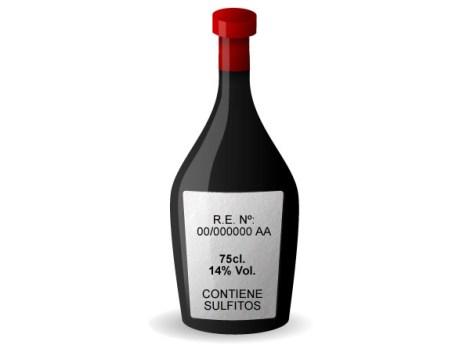 Los 4 datos obligatorios que deben estar en una botella de vino.