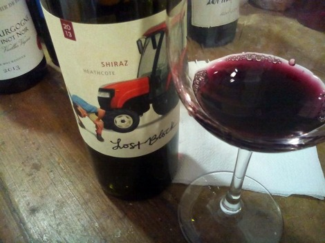 Los Block Shiraz 2013.