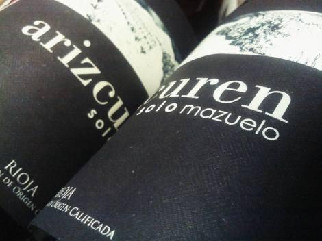 Detalle del etiquetado de Arizcuren Solomazuelo.