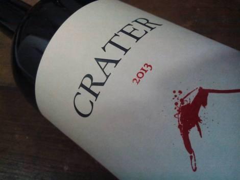 La etiqueta del vino Cráter de Bodegas Buten.