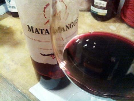 Un gran vino, sin lugar a dudas.