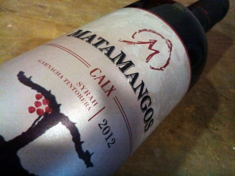 El etiquetado de Matamangos Calx.