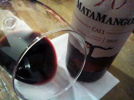 Detalle del ribete de Matamangos Calx.