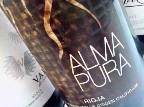 El segundo vino: Alma Pura de Bodegas Gil Berzal.