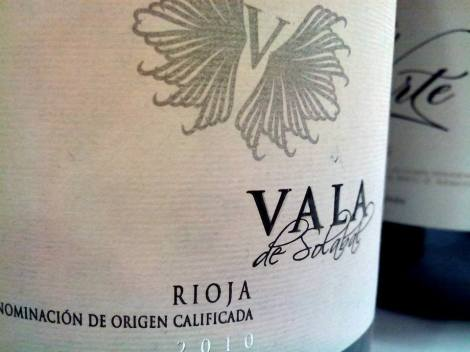El cuarto vino: Vala de Solabal 2010.