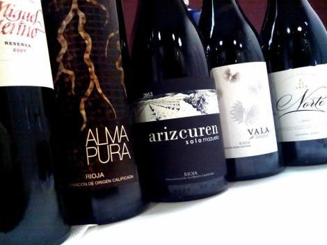 Los 5 vinos de la cata: ¡Que cara es La Rioja!.