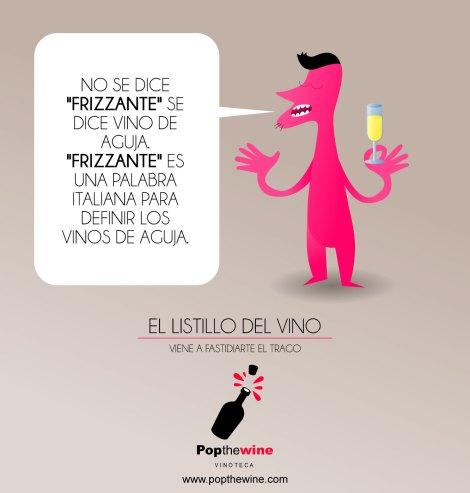 El listillo del vino que todo lo sabe.