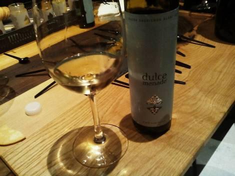 El tercer vino: Dulce Menade.