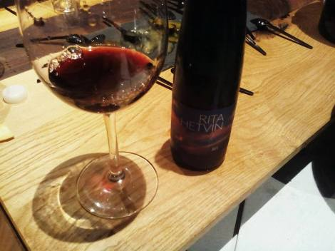 El útimo vino: Rita Hetvin