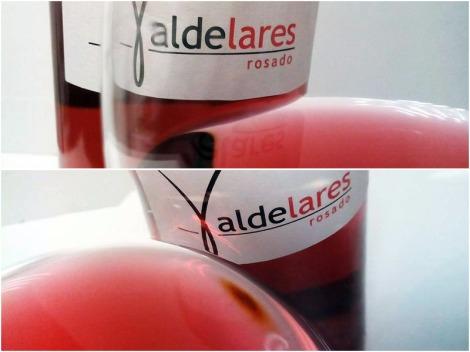 Valdelares Rosado Expresión 2015 en la copa.