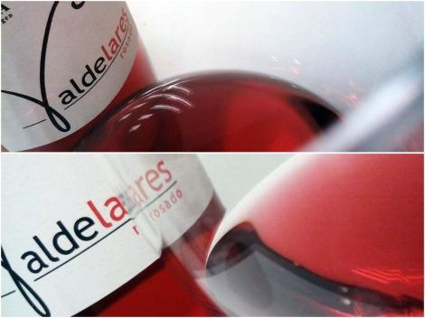 Detalles del vino Valdelares Rosado Expresión 2015.
