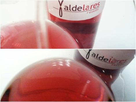 Detalles de Valdelares Rosado 2015.