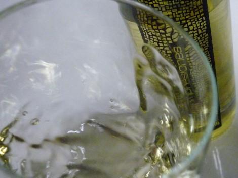 Tonos de color del vino Impresiones Verdejo.